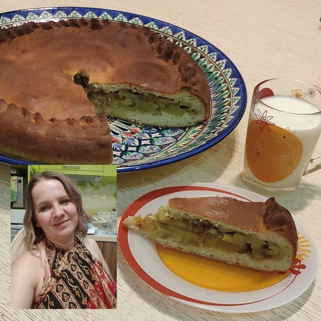 Рецепт от орга: бабушкин пирог с луком и картофелем от Шаман.Аднака (пирог Бабы Сани)