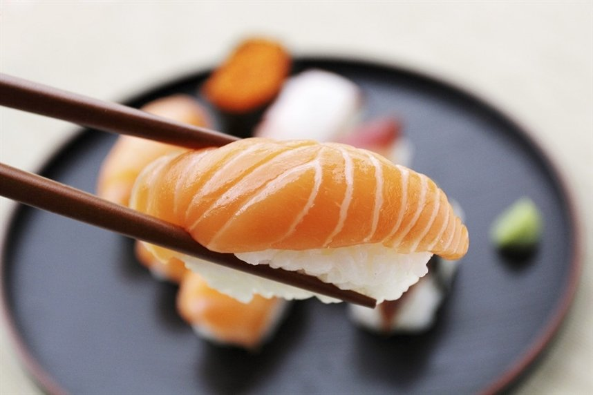 Опасность сырой рыбы